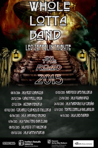 "Gira ""On the Road 2015"""