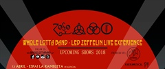 Whole Lotta Band Led Zeppelin experience en Murcia ( Garaje Beat Club )